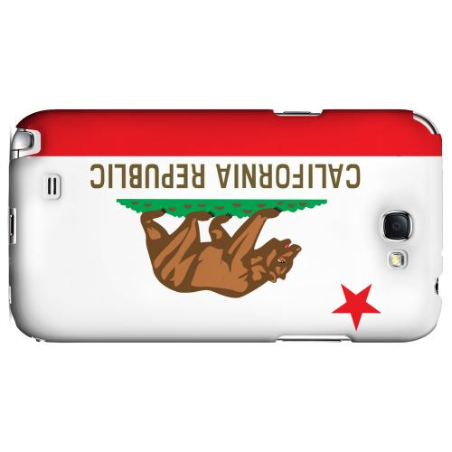 California - Geeks Designer Line Flag Series Hard Back Case for Samsung Galaxy Note 2