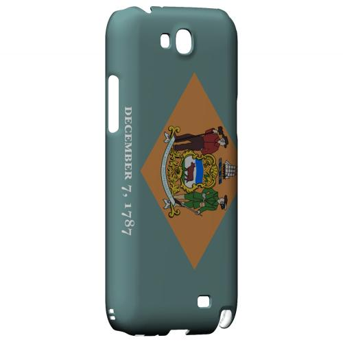 Delaware - Geeks Designer Line Flag Series Hard Back Case for Samsung Galaxy Note 2