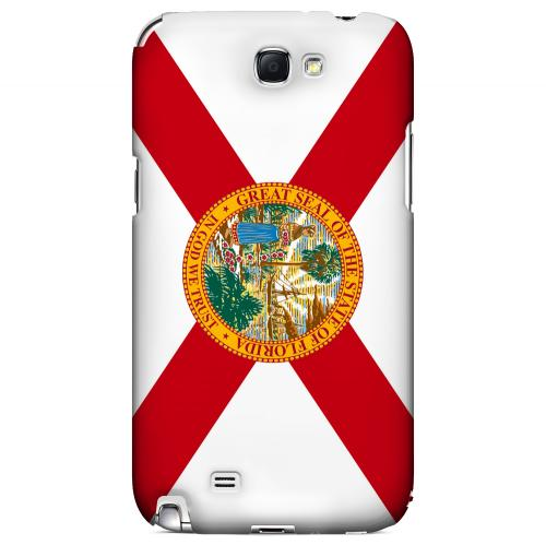 Florida - Geeks Designer Line Flag Series Hard Back Case for Samsung Galaxy Note 2