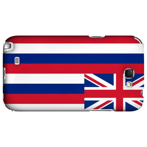 Hawaii - Geeks Designer Line Flag Series Hard Back Case for Samsung Galaxy Note 2