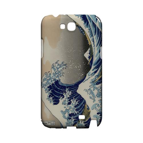 Katsushika Hokusai The Great Wave Off Kanagawa Geeks Designer Line Artist Series Slim Hard Case for Samsung Galaxy Note 2