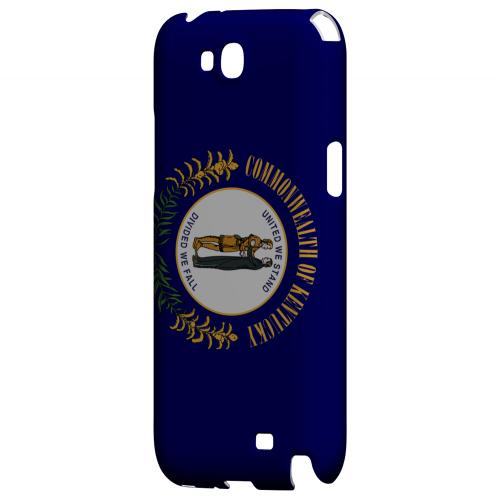 Kentucky - Geeks Designer Line Flag Series Hard Back Case for Samsung Galaxy Note 2