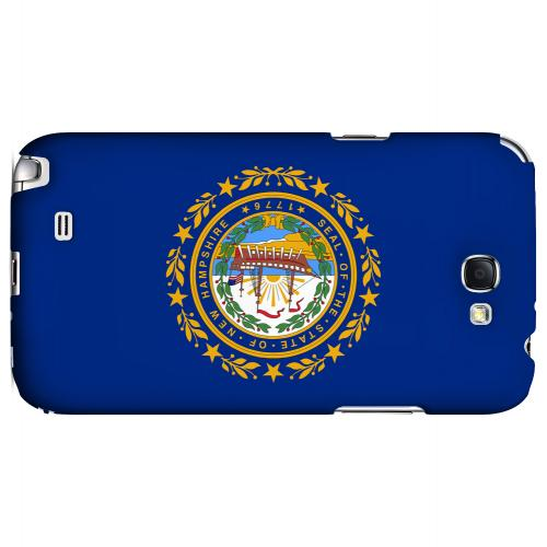 New Hampshire - Geeks Designer Line Flag Series Hard Back Case for Samsung Galaxy Note 2