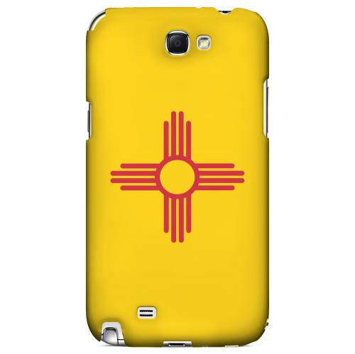 New Mexico - Geeks Designer Line Flag Series Hard Back Case for Samsung Galaxy Note 2
