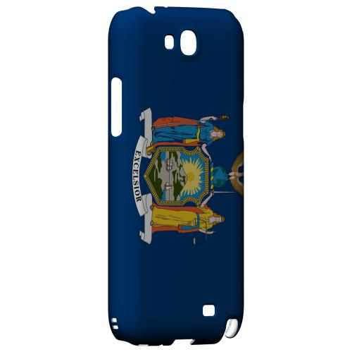 New York - Geeks Designer Line Flag Series Hard Back Case for Samsung Galaxy Note 2
