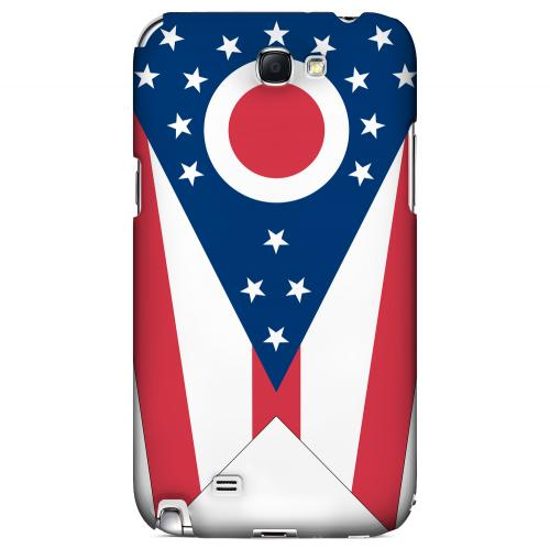Ohio - Geeks Designer Line Flag Series Hard Back Case for Samsung Galaxy Note 2