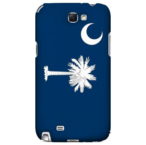 South Carolina - Geeks Designer Line Flag Series Hard Back Case for Samsung Galaxy Note 2