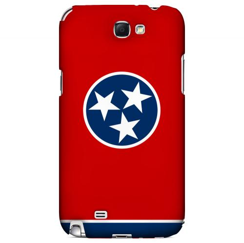 Tennessee - Geeks Designer Line Flag Series Hard Back Case for Samsung Galaxy Note 2
