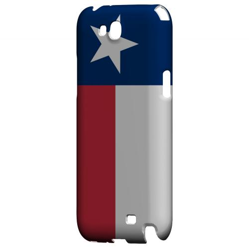 Texas - Geeks Designer Line Flag Series Hard Back Case for Samsung Galaxy Note 2