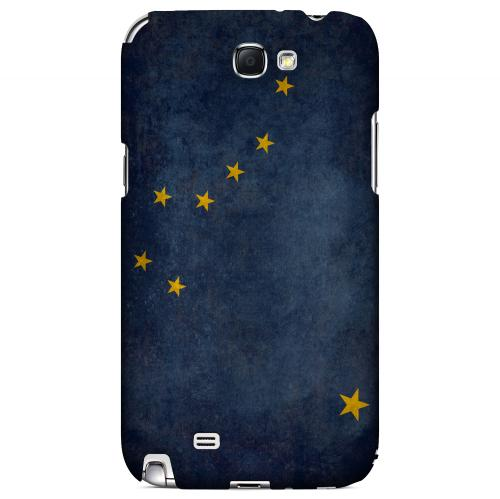 Grunge Alaska - Geeks Designer Line Flag Series Hard Case for Samsung Galaxy Note 2