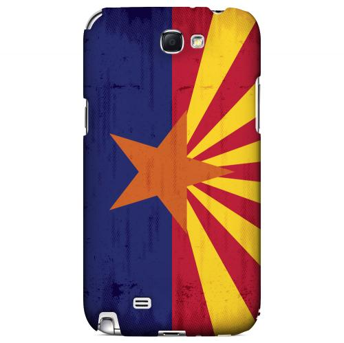 Grunge Arizona - Geeks Designer Line Flag Series Hard Case for Samsung Galaxy Note 2