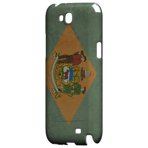 Grunge Delaware - Geeks Designer Line Flag Series Hard Case for Samsung Galaxy Note 2