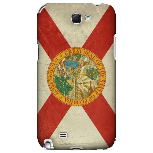 Grunge Florida - Geeks Designer Line Flag Series Hard Case for Samsung Galaxy Note 2