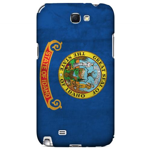 Grunge Idaho - Geeks Designer Line Flag Series Hard Case for Samsung Galaxy Note 2