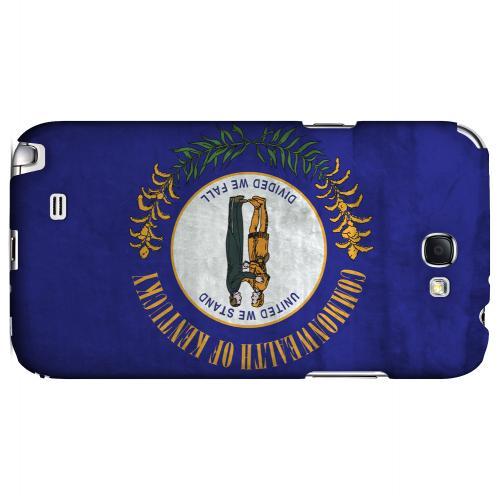 Grunge Kentucky - Geeks Designer Line Flag Series Hard Case for Samsung Galaxy Note 2