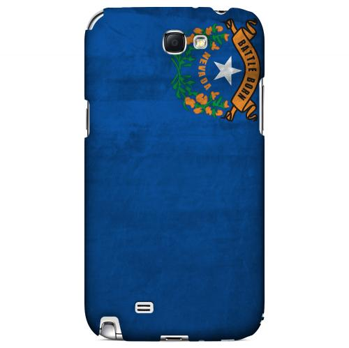Grunge Nevada - Geeks Designer Line Flag Series Hard Case for Samsung Galaxy Note 2
