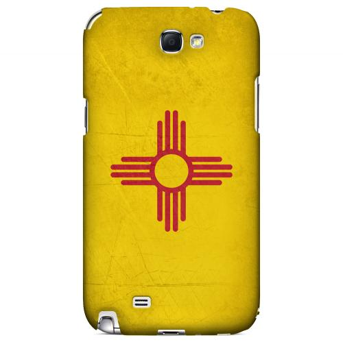Grunge New Mexico - Geeks Designer Line Flag Series Hard Case for Samsung Galaxy Note 2