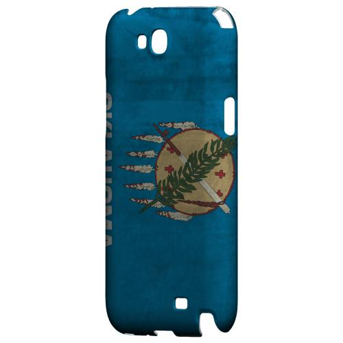 Grunge Oklahoma - Geeks Designer Line Flag Series Hard Case for Samsung Galaxy Note 2