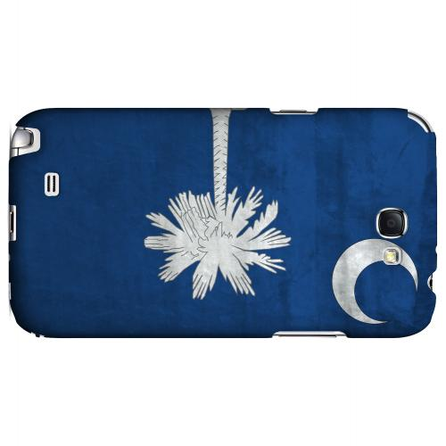 Grunge South Carolina - Geeks Designer Line Flag Series Hard Case for Samsung Galaxy Note 2