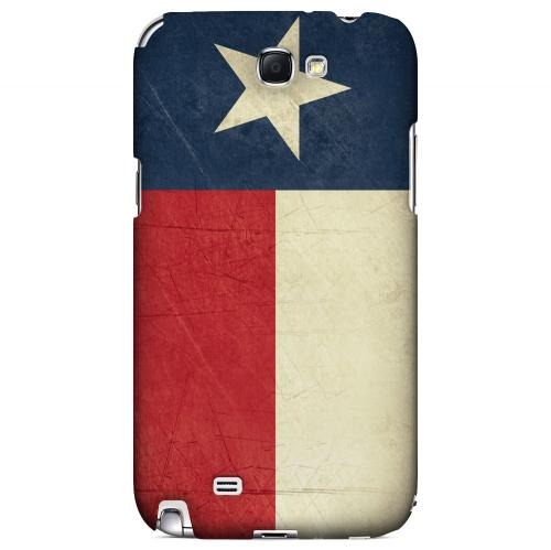 Grunge Texas - Geeks Designer Line Flag Series Hard Case for Samsung Galaxy Note 2
