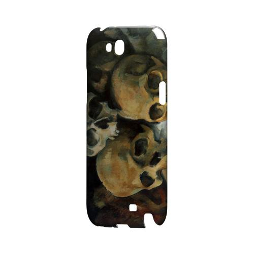 Paul Cezanne Pyramid of Skulls Geeks Designer Line Artist Series Slim Hard Case for Samsung Galaxy Note 2