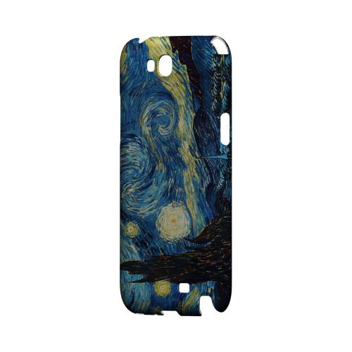 Vincent Van Gogh Starry Night Geeks Designer Line Artist Series Slim Hard Case for Samsung Galaxy Note 2