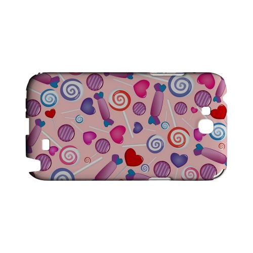 Assorted Candy Geeks Designer Line Candy Series Slim Hard Back Cover for Samsung Galaxy Note 2