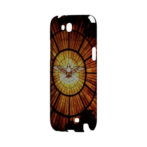 Holy Spirit Glass - Geeks Designer Line (GDL) Bible Verse Series Hard Back Cover for Samsung Galaxy Note 2