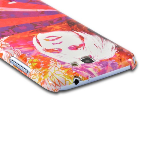 Flowerchild Americana Nostalgia Series Ultra Slim Hard Case for Samsung Galaxy Note 2 Geeks Designer Line