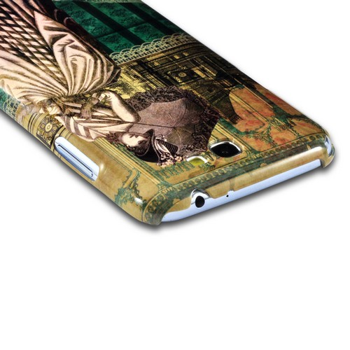 Southern Belle Americana Nostalgia Series Ultra Slim Hard Case for Samsung Galaxy Note 2 Geeks Designer Line