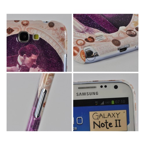 A Midsummer Night Swoon Americana Nostalgia Series Ultra Slim Hard Case for Samsung Galaxy Note 2 Geeks Designer Line