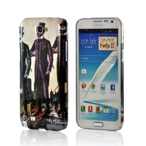 New York Like A Sir Americana Nostalgia Series Ultra Slim Hard Case for Samsung Galaxy Note 2 Geeks Designer Line