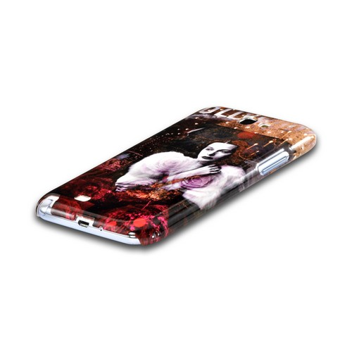 Hollywood Glam Americana Nostalgia Series Ultra Slim Hard Case for Samsung Galaxy Note 2 Geeks Designer Line