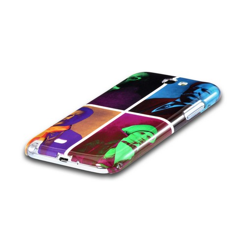 Hip Before It Was Cool Americana Nostalgia Series Ultra Slim Hard Case for Samsung Galaxy Note 2 Geeks Designer Line