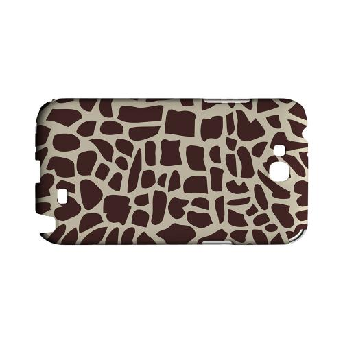 Giraffe Geeks Designer Line Animal Print Series Slim Hard Back Cover for Samsung Galaxy Note 2