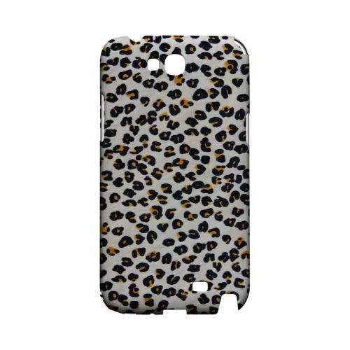 Albino Leopard Print Geeks Designer Line Animal Print Series Slim Hard Back Cover for Samsung Galaxy Note 2