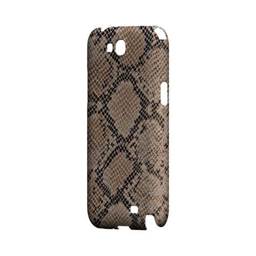 Rattlesnake Skin Geeks Designer Line Animal Print Series Slim Hard Back Cover for Samsung Galaxy Note 2