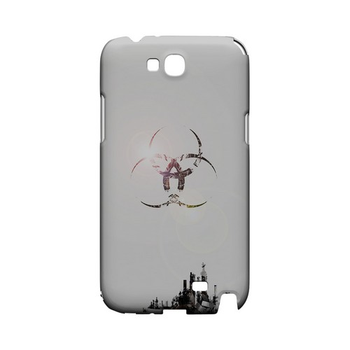 Ghost Town - Geeks Designer Line (GDL) Retro Series Hard Back Cover for Samsung Galaxy Note 2