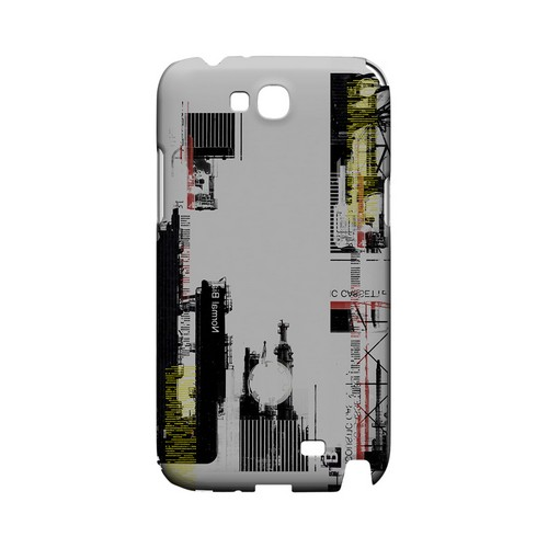 Industrial District - Geeks Designer Line (GDL) Retro Series Hard Back Cover for Samsung Galaxy Note 2