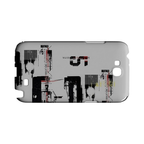 District 5 - Geeks Designer Line (GDL) Retro Series Hard Back Cover for Samsung Galaxy Note 2