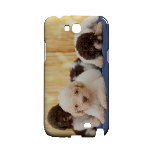 Three Buddies Geeks Designer Line Puppy Series Slim Hard Case for Samsung Galaxy Note 2