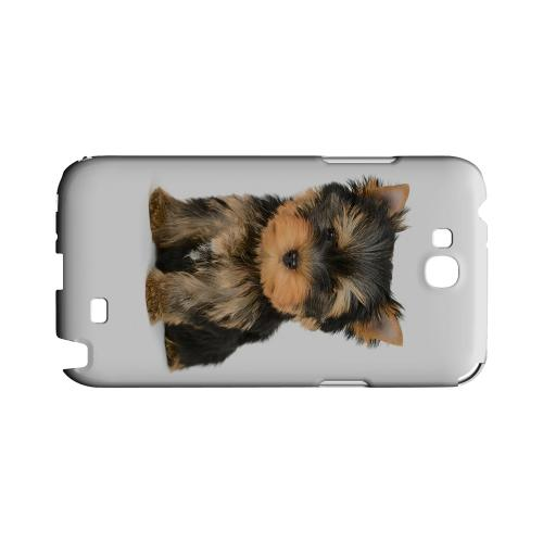 Yorkie Geeks Designer Line Puppy Series Slim Hard Case for Samsung Galaxy Note 2