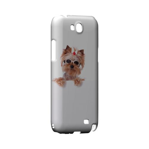 Yorkshire Terrier Geeks Designer Line Puppy Series Slim Hard Case for Samsung Galaxy Note 2