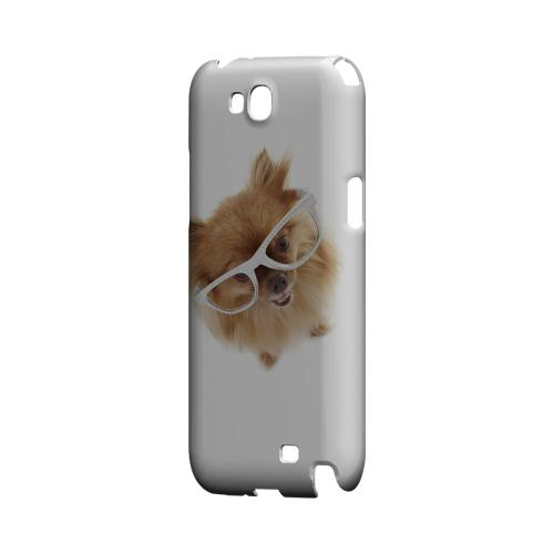 Pomeranian Geeks Designer Line Puppy Series Slim Hard Case for Samsung Galaxy Note 2