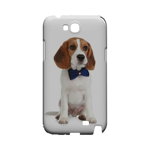 Beagle with Bow Tie Geeks Designer Line Puppy Series Slim Hard Case for Samsung Galaxy Note 2