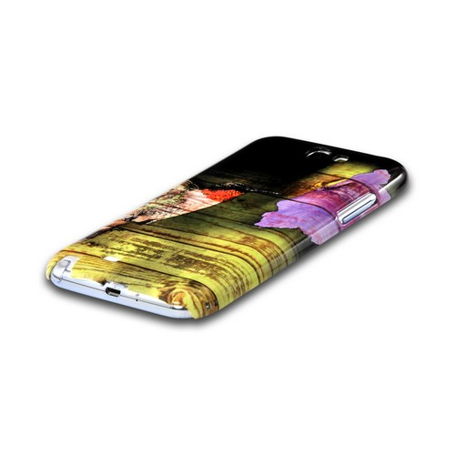 Hummingbird Asian Print Series Slim Hard Case for Samsung Galaxy Note 2 Geeks Designer Line