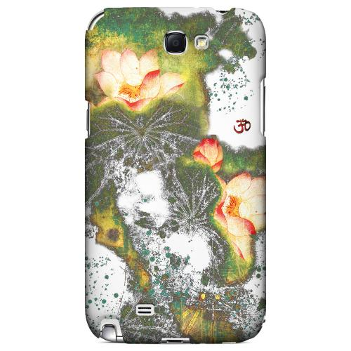 Lotus Flowers Asian Print Series Slim Hard Case for Samsung Galaxy Note 2 Geeks Designer Line
