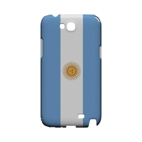 Argentina Geeks Designer Line Flag Series Slim Hard Case for Samsung Galaxy Note 2