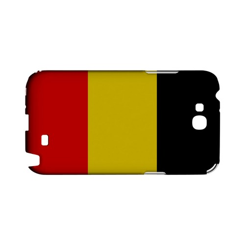 Belgium Geeks Designer Line Flag Series Slim Hard Case for Samsung Galaxy Note 2