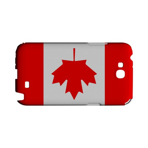 Canada Geeks Designer Line Flag Series Slim Hard Case for Samsung Galaxy Note 2